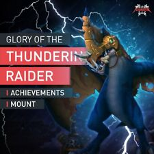 Glory of the thundering Raider reins of the armored skyscreamer Mount accplay UE