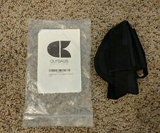 Outbags Walther PPK/s and more Nylon Holster w Belt Clip Left Hand MADE IN USA