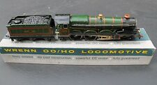 BOXED WORKING WRENN 'OO' GAUGE BR GREEN 4-6-0 'CARDIFF CASTLE' STEAM LOCOMOTIVE