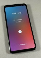 LG V40 ThinQ 64GB Black AT&T GSM Unlocked T-Mobile Cricket Android 4G LTE