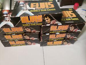 1978 DONRUSS ELVIS - 7 BOXES OF 36 WAX PACKS IN EACH (252 UNOPENED PACKS!)