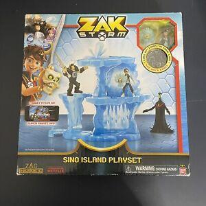 Ban Dai Zak Storm Sino Island Playset Mobile Game Treasure Coins Seven Seas Netf