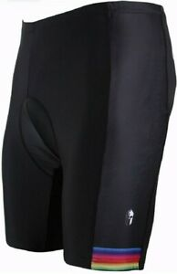 Paladin Men's Cycling Shorts with Inner Padded Color Edge Pattern Bike Jersey XL