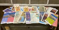 Vintage Lot Of 36 AAA Road Maps Old Gas Oil Advertising Reseller Lot