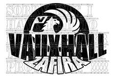 VAUXHALL ZAFIRA gsi vxr decal vinyl graphic window sticker other colour & sizes