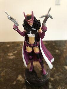 Eaglemoss The Huntress DC Super Hero Collection Figure Metal Batman Spiral