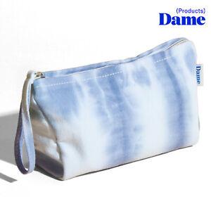Dame Products Storage Stash Toy Travel Bag Zip Pouch Purse Sky Piccola Pochette