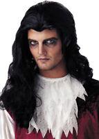 Morris Costumes Men's New Vampire & Devil Nightmare Black Wig. MR177005