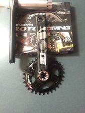 Crankset Rotor Single MTB (shinano Xtr) 30t Oval