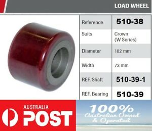CROWN FORKLIFT - W SERIES - LOAD WHEEL -SHAFT- BEARING - ALSO FITS 40WTT SERIES