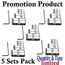 5 Set 7mm 8mm Chrome Spark Plug Wire Separators Dividers Looms  Promotion !
