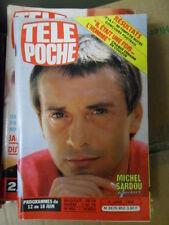 TELE POCHE 852(1982)MICHEL SARDOU-SYLVIE VARTAN(2 pges)SHEILA C.GOYA  NICOLETTA