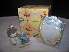 Enesco My Blushing Bunnies Friendship Puts A Smile On Your Face  REGISTERED