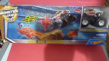 Hot Wheels Monster Jam Play set-Brick Wall Breakdown