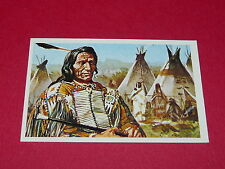 N°306 RED CLOUD CONQUETE DE L'OUEST WILLIAMS 1972 PANINI FAR WEST WESTERN