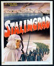 STALINGRAD 1943 Leonid Varlamov Documentary BELGIAN POSTER