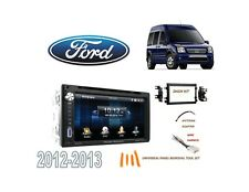 2012-2013 FORD TRANSIT CONNECT DDIN STEREO KIT, USB TOUCHSCREEN BLUETOOTH DVD