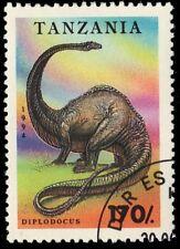 """Tanzania 1221 (Sg1803) - Prehistoric Wildlife """"Diplodocus"""" (pa34599)"""