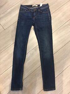 Ladies Blue Denim Z1975 Zara Jeans, Size Eur 36/USA 04, Great Condition