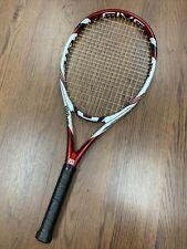 Wilson Five Lite BLX 4 1/4 L2 Tennis Racquet New Strings and Grip NEAR MINT