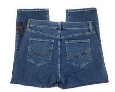NYDJ Not Your Daughter's Jeans Crop Capri Lift Tuck NWT Blue Jeans USA Women's 6