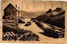 CPA  Route des Alpes - Le Col d'Allos (2250.) -La Chalet-refuge et ...(296012)