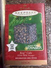 Star Trek, Borg Cube, Hallmark Ornament, 2000, MINT