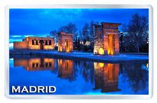 MADRID SPAIN DEBOD TEMPLE MOD2 FRIDGE MAGNET SOUVENIR IMAN NEVERA
