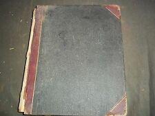 1905 AUG-DEC EDWARD DEVLIN ESQ LEDGER BOOK + APPROX 100 TYPED LETTERS - KD 2940