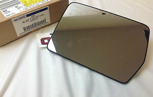 2004 - 2010 Ford F-150 LH Drivers Side View Mirror Power Mirror Glass OEM new