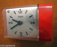 vendo vintage clock rare SVEGLIA FIAGES MADE GERMANY TEDESCA REGOLAZIONE VOLUME