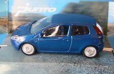 FIAT PUNTO BLEU MONDO MOTORS 1/43 BERLINE 4 DOORS BLAU