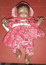 "Vintage African American 10"" Girl Doll 1968 Black Horseman Dolls"