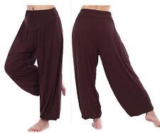 US Women Harem Genie Aladdin Pants Causal Baggy Gypsy Loose Dance Yoga Trousers