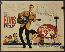 IT HAPPENED AT THE WORLD'S FAIR 1963 22X28 ORIGINAL MOVIE POSTER ELVIS PRESLEY