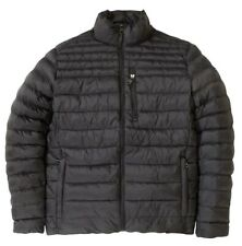 Calvin Klein Mens Packable Water Resistant Zip Front Puffer Warmth Jacket Size L