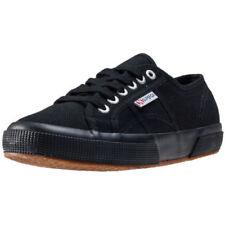 Zapatillas deportivas de mujer planos Superga color principal negro