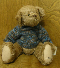 "Ganz Cottage Collectible CC284 WILLIAM, 13"" by Carol E Kirby, From Retail Store"