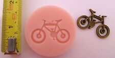 BICYCLE SILICONE MOULD FOR CAKE TOPPER, CHOCOLATE, CLAY ETC