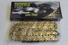 TROFEO CATENA TRB RB-RING PASSO 520 120 MAGLIE COLORE ORO per MOTO FANTIC