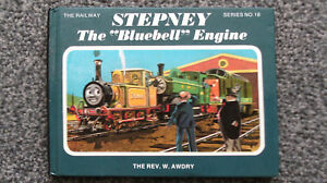 SIGNED Christopher Awdry - Stepney The Bluebell Engine - Railway Series 18 -1995
