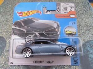 Hot Wheels 2017 #105/365 CADILLAC ELMIRAJ grey Factory Fresh