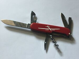 Swiss Army Knife Victorinox Spartan Plain Si2 Solar Impulse 2 91mm , rare
