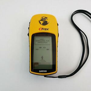 Garmin eTrex Navigator 12 Channel GPS Yellow Handheld Personal Portable Device