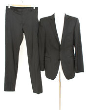 strellson Anzug Gr. 94 Slim Fit Wolle Sakko Hose Business Suit