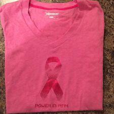 Womens Breast Cancer T-shirt - NWT Pink Ribbon