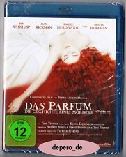 """PERFUME - THE STORY OF A MURDERER"" - Alan Rickman, Dustin Hoffmann - BLU RAY"
