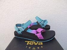 TEVA ORIGINAL UNIVERSAL PINK GRADIENT STRAPPY SANDALS, WOMEN US 7/ EUR 38 ~NWT