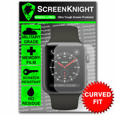 Screenknight Apple Watch Series 3 (42 mm) Protecteur d'écran-Courbé Fit