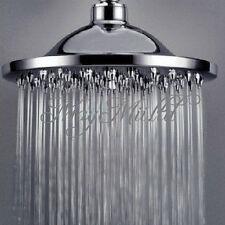 "6"" Round Polished Rainfall Bath Bathroom Sprinkler Top Shower Head Bathhouse A び"